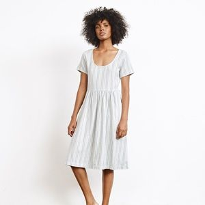Ace & Jig Bonnie Dress in Skipper Small